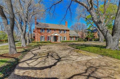 Dallas, Fort Worth Single Family Home Active Option Contract: 6207 Park Lane