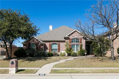 Frisco Single Family Home For Sale: 2252 Barret Drive