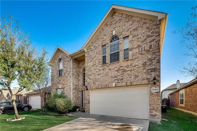Dallas County, Denton County, Collin County, Cooke County, Grayson County, Jack County, Johnson County, Palo Pinto County, Parker County, Tarrant County, Wise County Single Family Home For Sale: 5752 Fountain Flat Drive