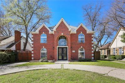 North Oak Lawn, North Oak Lawn Add, Notth Oak Lawn, Oak Lawn Heights, Oaklawn Single Family Home For Sale: 5121 Stoneleigh Avenue