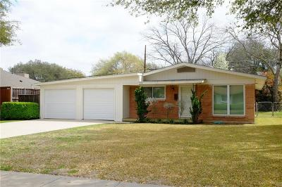 Richardson Single Family Home For Sale: 203 S Weatherred Drive