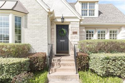 Dallas, Fort Worth Single Family Home For Sale: 5511 Stanford Avenue