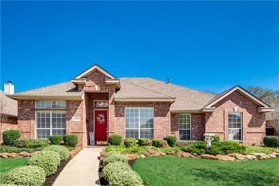 Keller Single Family Home Active Option Contract: 307 Bramble Woods