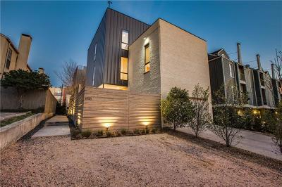 Dallas County Townhouse Active Option Contract: 4110 Cole Avenue