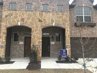 Irving Townhouse For Sale: 4460 Samarth Street