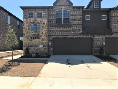 Irving Townhouse For Sale: 4448 Samarth Street