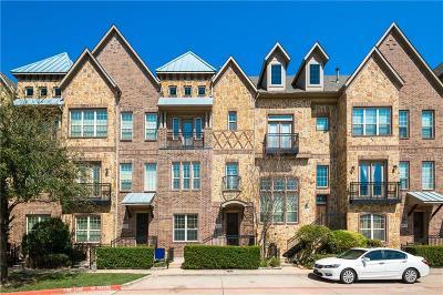 Farmers Branch Townhouse For Sale: 4029 Winsor Drive
