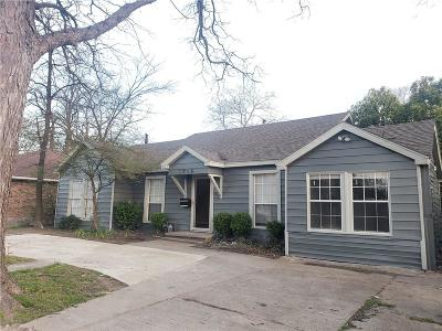 Garland Single Family Home For Sale: 1018 W Avenue D