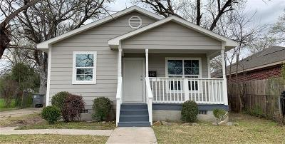 Dallas Single Family Home For Sale: 2667 E Ann Arbor