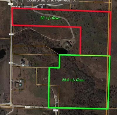 Decatur Farm & Ranch For Sale: 0000 County Road 4522