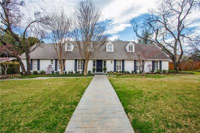 Dallas, Fort Worth Single Family Home For Sale: 3830 Whitehall Drive