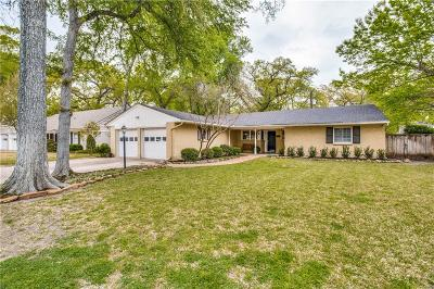 Fort Worth Single Family Home For Sale: 3209 Tanglewood Trail