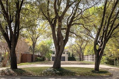 Highland Park Residential Lots & Land For Sale: 3657 Mockingbird Lane