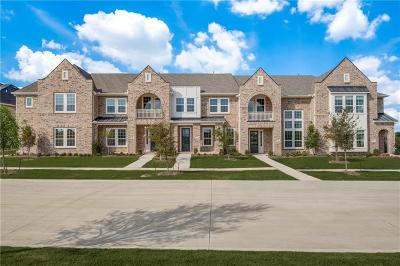 Frisco Townhouse For Sale: 7255 Switchgrass Road