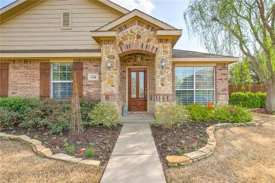 Denton Single Family Home Active Option Contract: 2100 Creekdale Drive