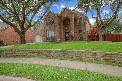 Flower Mound Single Family Home Active Option Contract: 3517 Derbyshire Court