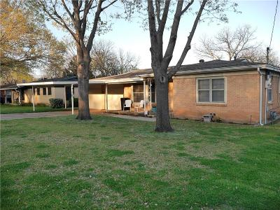 Benbrook Single Family Home Active Option Contract: 1025 Warden Street
