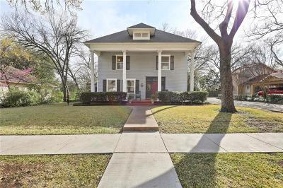 Waxahachie Single Family Home For Sale: 901 W Marvin Avenue
