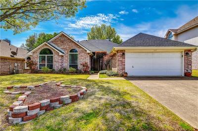 North Richland Hills Single Family Home Active Option Contract: 6816 Hickory Hollow Lane