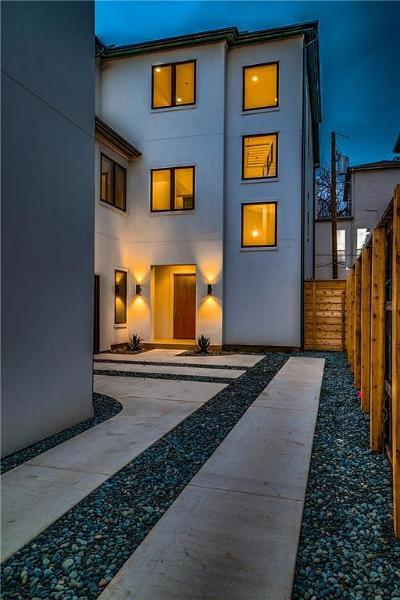 Dallas County Half Duplex For Sale: 4506 Gilbert Avenue