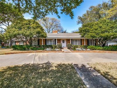 Dallas Single Family Home For Sale: 7371 Paldao Drive