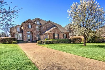 Allen Single Family Home Active Contingent: 2100 Country Brook Lane