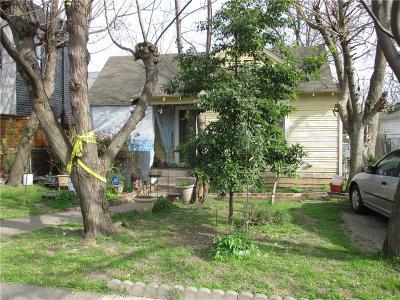 Dallas Single Family Home For Sale: 4418 Capitol Avenue