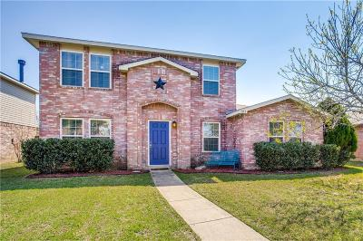 Wylie Single Family Home Active Contingent: 1533 Windward Lane