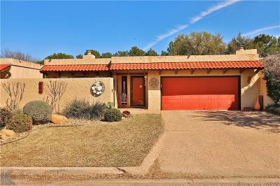 Abilene Single Family Home Active Option Contract: 25 Tamarisk Circle