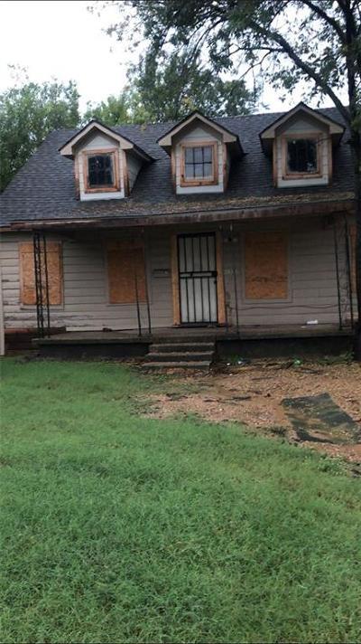 Dallas Single Family Home For Sale: 2618 Al Lipscomb Way