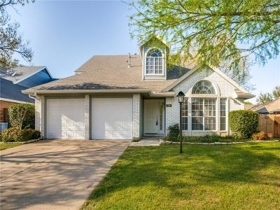 Hurst Single Family Home Active Option Contract: 705 Timbercreek Drive