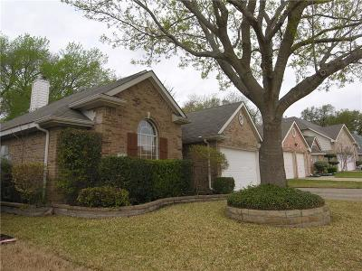 Garland TX Single Family Home Active Contingent: $212,000