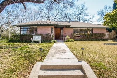 Dallas County Single Family Home For Sale: 7344 Crownrich Lane