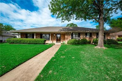Grand Prairie Single Family Home Active Option Contract: 2205 Prince John Drive