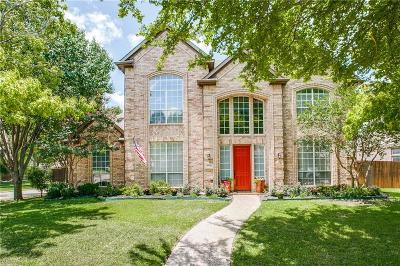 Plano Single Family Home Active Option Contract: 8401 Becket Circle