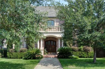 Dallas County Single Family Home For Sale: 4332 Caruth Boulevard