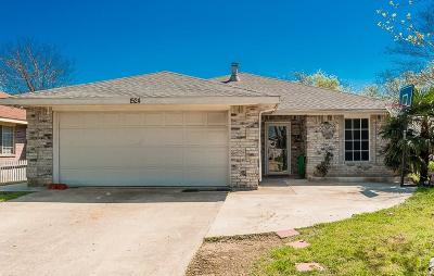Dallas Single Family Home Active Contingent: 1524 Marion Drive