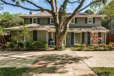 Highland Park Single Family Home For Sale: 4609 Mockingbird Lane