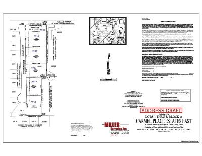 Colleyville Residential Lots & Land Active Option Contract: 4819 Carmel Place