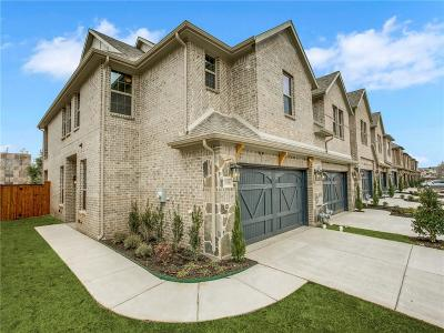 Carrollton Townhouse For Sale: 3629 Harebell Drive