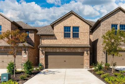 Carrollton Townhouse For Sale: 3625 Harebell Drive