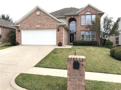 Fort Worth Single Family Home Active Option Contract: 4824 Valley Springs Trail