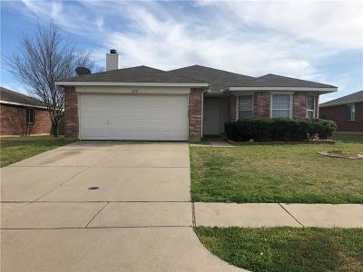 Krum Single Family Home For Sale: 1412 Aztec Trail