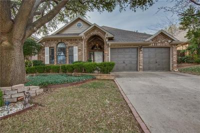 Grapevine Single Family Home Active Option Contract: 1921 Rose Court