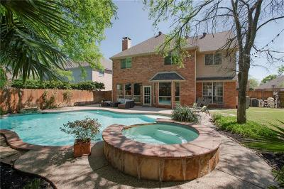 Coppell Single Family Home Active Option Contract: 410 Saddle Tree Trail
