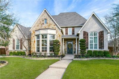 McKinney Single Family Home Active Contingent: 3300 Clouds Creek Court