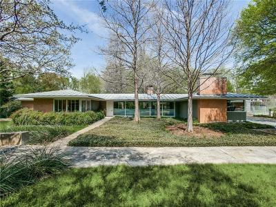 Single Family Home Active Option Contract: 5415 Walnut Hill Lane