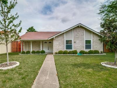 Garland Single Family Home Active Option Contract: 2109 Homestead Place