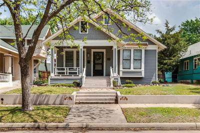 Fort Worth Single Family Home For Sale: 2013 Hurley Avenue