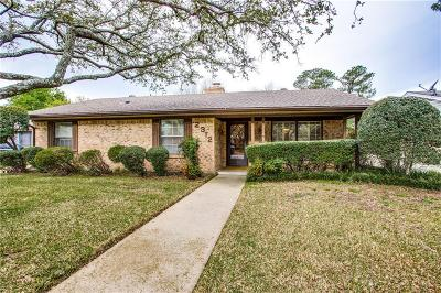 Sherman Single Family Home Active Option Contract: 2312 Diana Drive